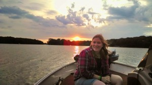 Dana on Lake